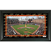 Highland Mint Baltimore Orioles Signature Field Photo Frame