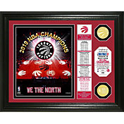Highland Mint 2019 NBA Champions Toronto Raptors Banner Bronze Coin Photo Mint