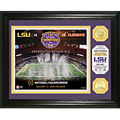 Highland Mint 2019 National Champions LSU Tigers Bronze Coin Photo Mint