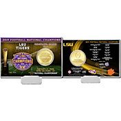 Highland Mint 2019 National Champions LSU Tigers Coin Card