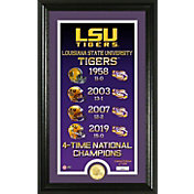 Highland Mint 4-Time National Champions LSU Tigers Legacy Bronze Coin Photo Mint