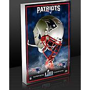 Highland Mint Super Bowl LIII Champions New England Patriots Art Block