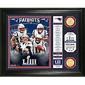 "Highland Mint Super Bowl LIII Champions New England Patriots ""Banner"" Bronze Coin Photo Mint"