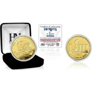 Highland Mint Super Bowl LIII Champions New England Patriots Gold Mint Coin