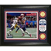 Highland Mint Super Bowl LIII Champions New England Patriots MVP Julian Edelman Bronze Coin Photo Mint