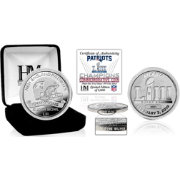 Highland Mint Super Bowl LIII Champions New England Patriots Pure Silver Mint Coin