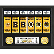 Highland Mint Boston Bruins Stanley Cup Banner Collection Photo Mint