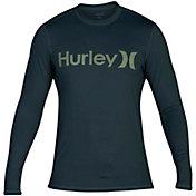 Hurley Boys' One & Only Long Sleeve Rash Guard