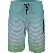 Hurley Boys' Icon Rainbow Gradient Swim Trunks