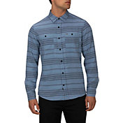 Hurley Men's Blake Long Sleeve Woven Button Down Shirt