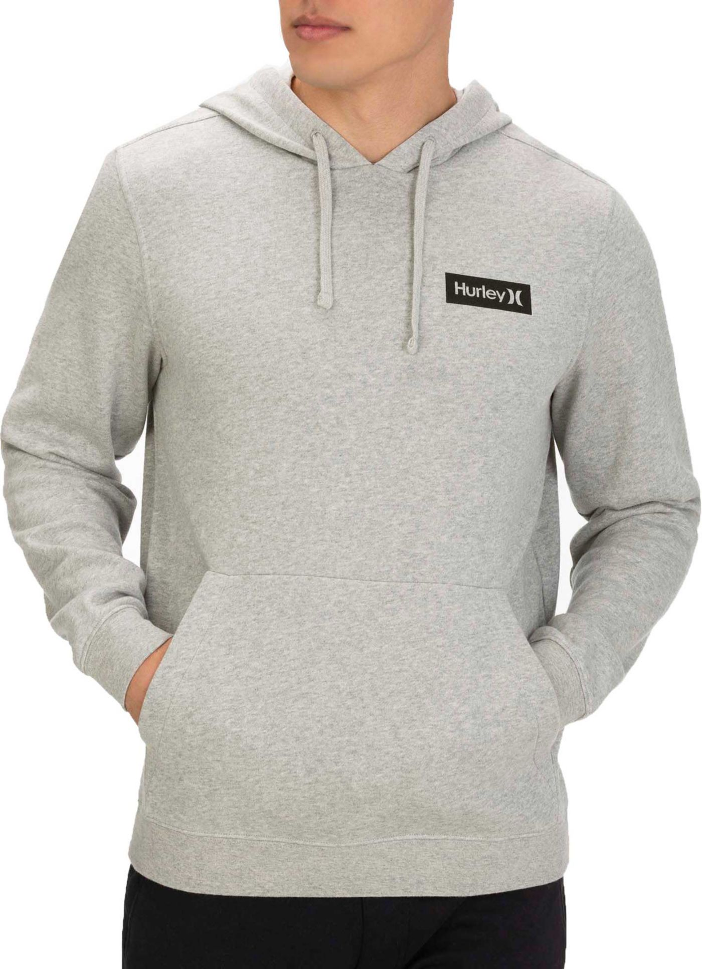 Hurley Men's One & Only Boxed Flashback Pullover Hoodie