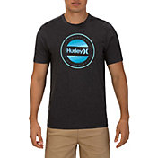Hurley Men's Circle Dye Logo T-Shirt