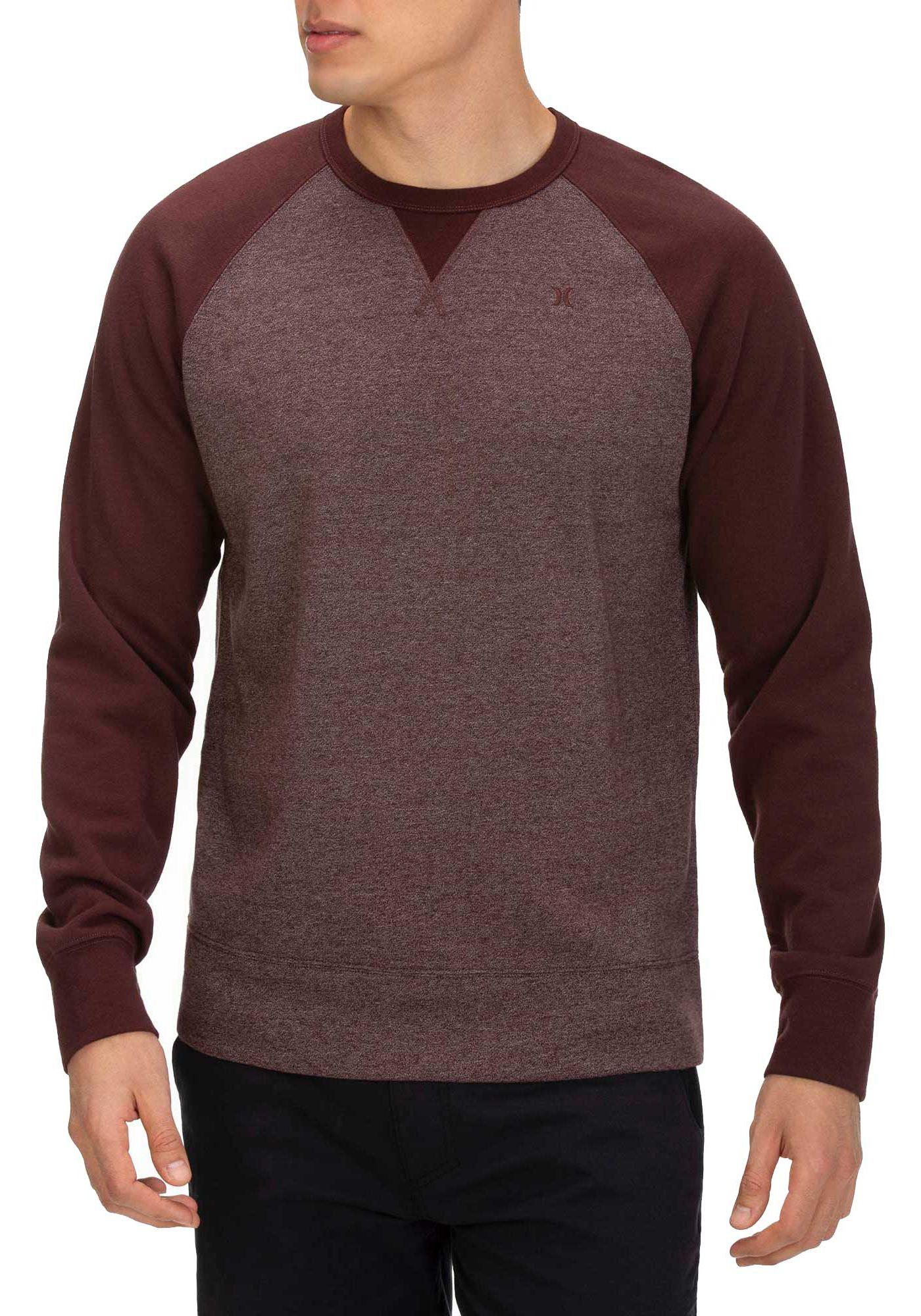 Hurley Men's Crone Textured Crew Sweatshirt