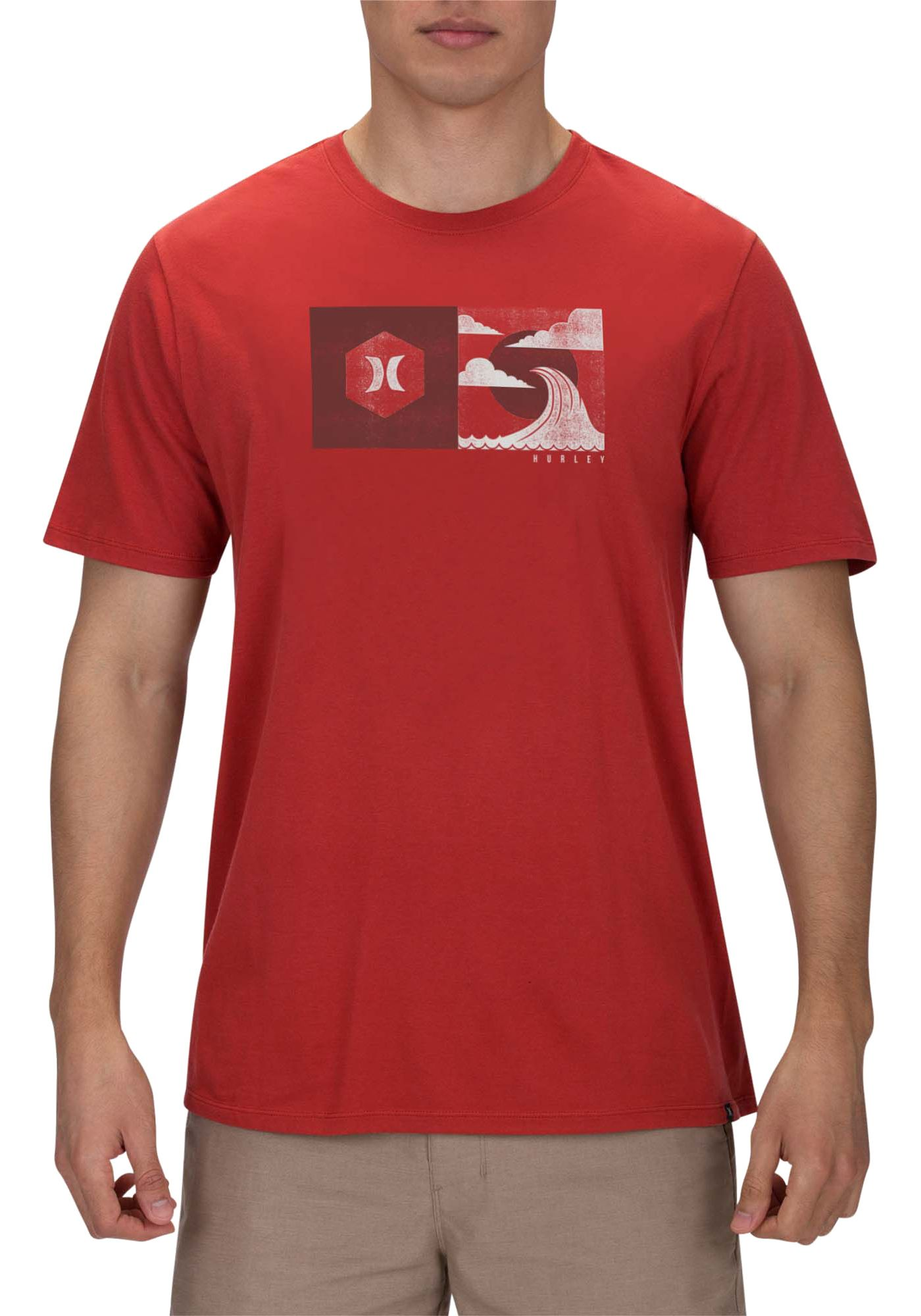 Hurley Men's Crashing T-Shirt