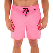 Hurley Men's One & Only Cross Dye Volley 17'' Board Shorts