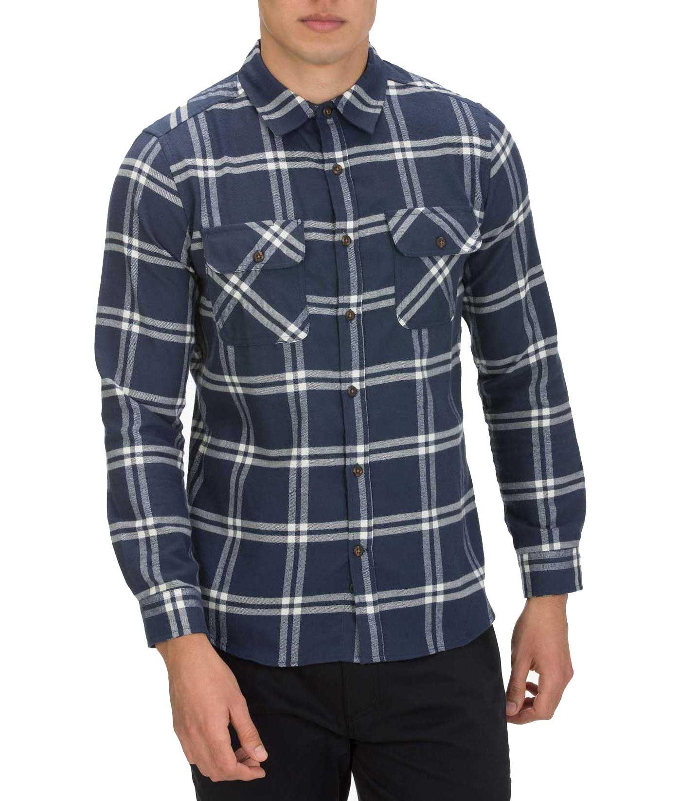 Hurley Men's Dri-FIT Slalinger Button Down Long Sleeve Shirt