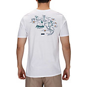 Hurley Men's Florida 3D Mapstee T-Shirt