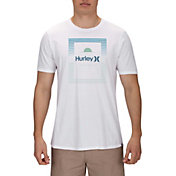 Hurley Men's Horizon Lines Short Sleeve T-Shirt