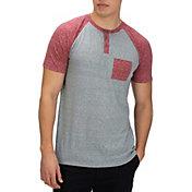 Hurley Men's Lido Raglan Henley T-Shirt