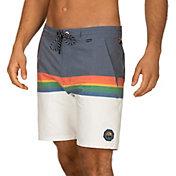 Hurley Men's Beachside x Pendleton Crater Lake 18'' Swim Shorts