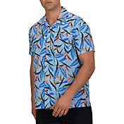 Hurley Men's Birds Of Paradise Short Sleeve Shirt