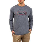 Hurley Men's Premium Bow Tie Long Sleeve Shirt