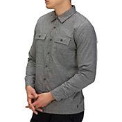 Hurley Men's Cooper Washed Long Sleeve Shirt Jacket