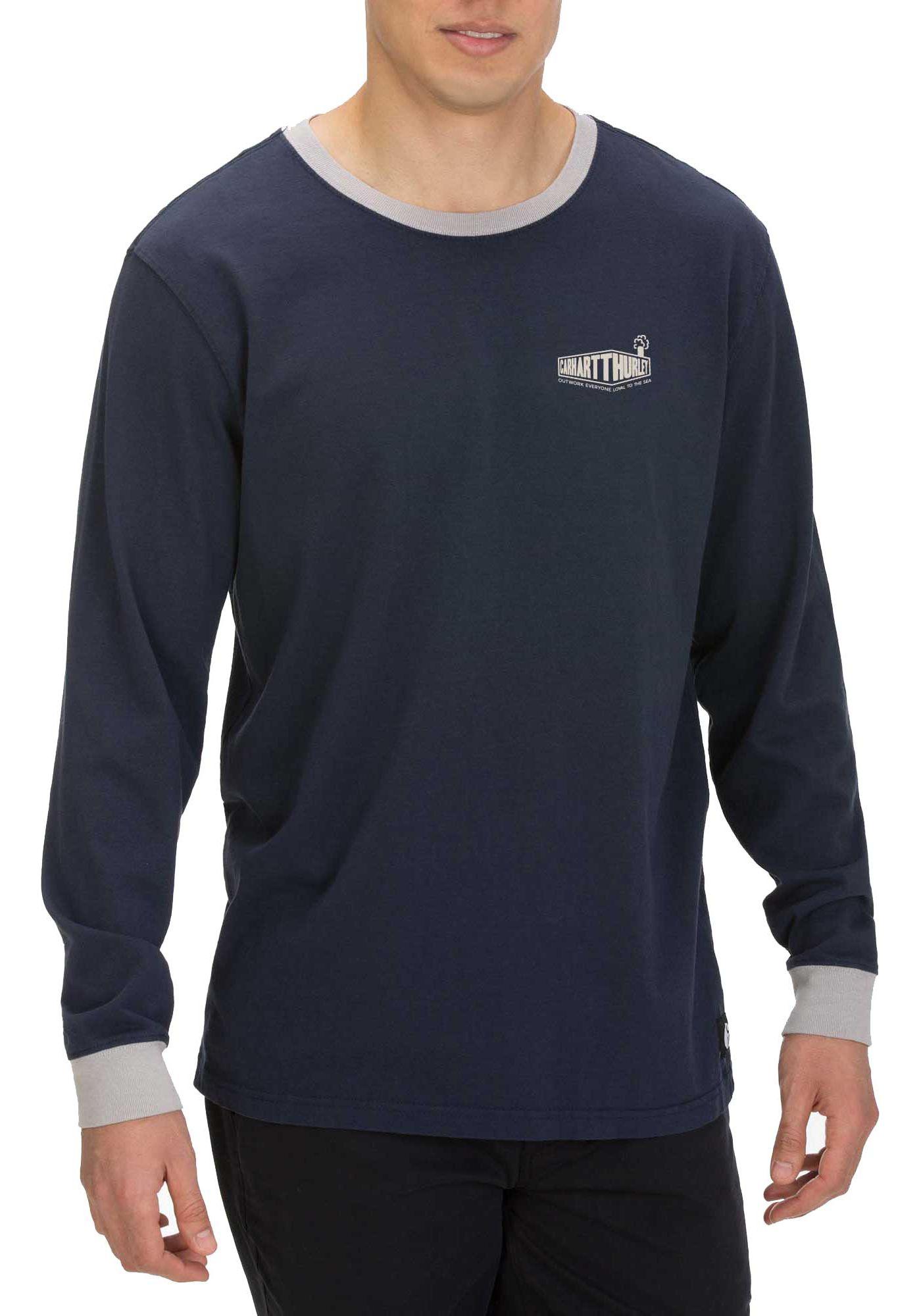 Hurley Men's Carhartt Ringer Long Sleeve T-Shirt