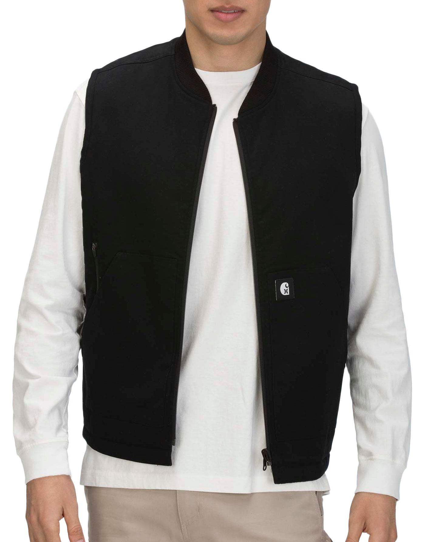 Hurley Men's Carhartt Full Zip Vest