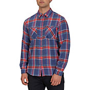 Hurley Men's Creeper Washed Long Sleeve Shirt