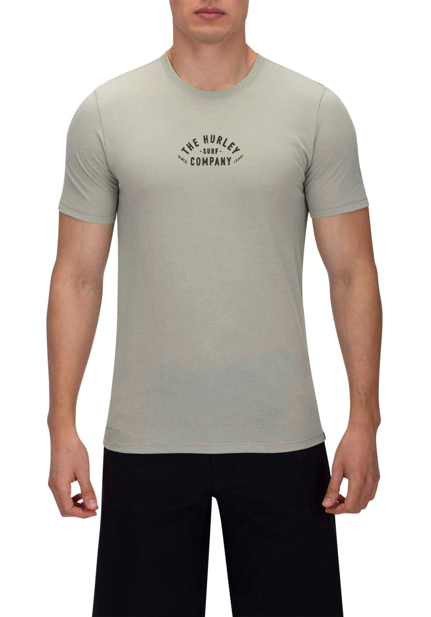 Hurley Men's Dri-FIT 3rd Base Short Sleeve T-Shirt
