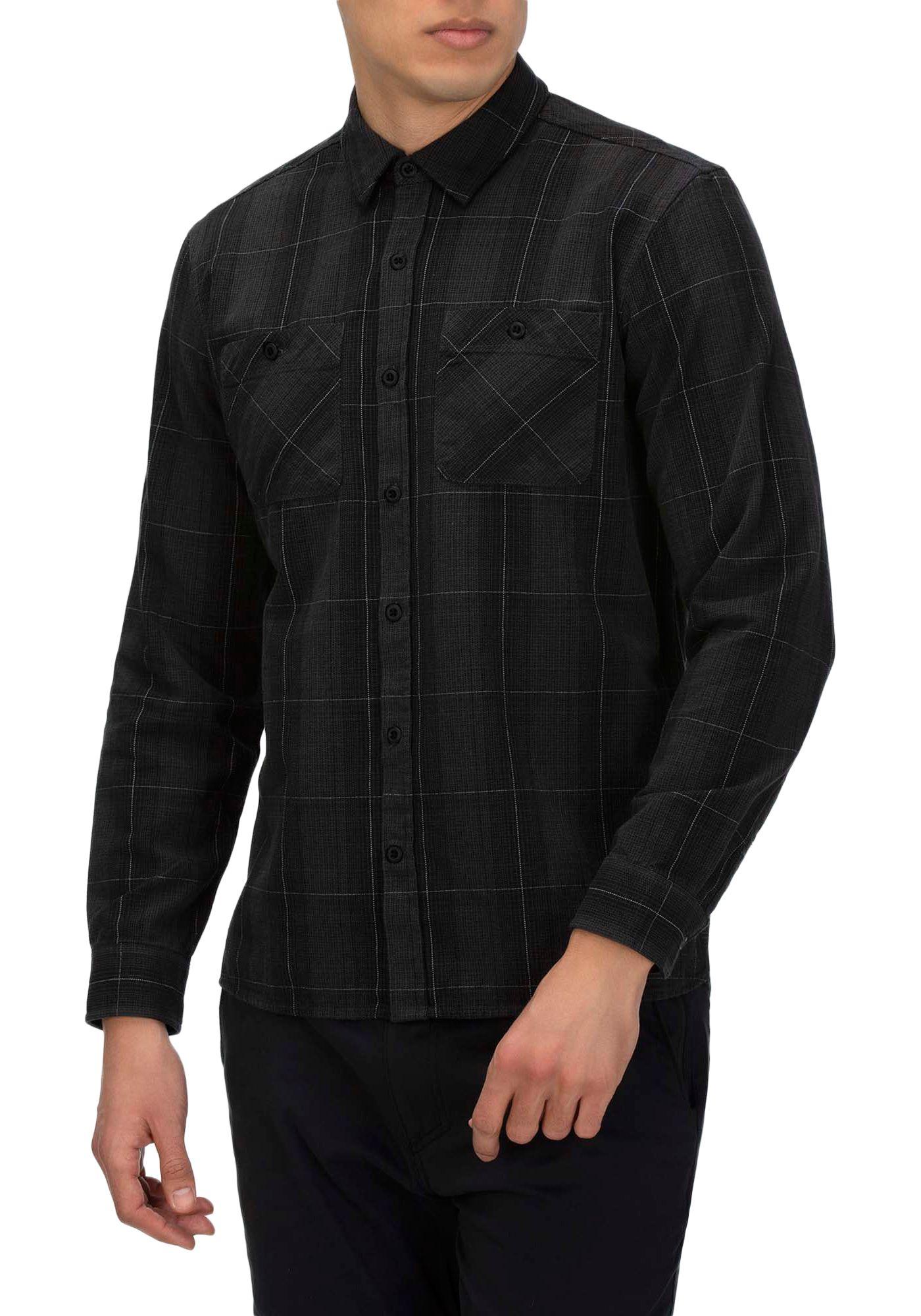 Hurley Men's Hendrick Flannel Long Sleeve Shirt