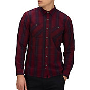 Hurley Men's Hendrick Flannel Long Sleeve Shirt