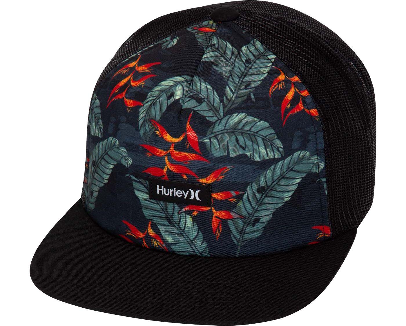 Hurley Men's Mixtape Trucker Hat