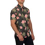 Hurley Men's Lanai Stretch Short Sleeve Shirt
