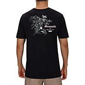 Hurley Men's Minnesota 3D Mapstee T-Shirt