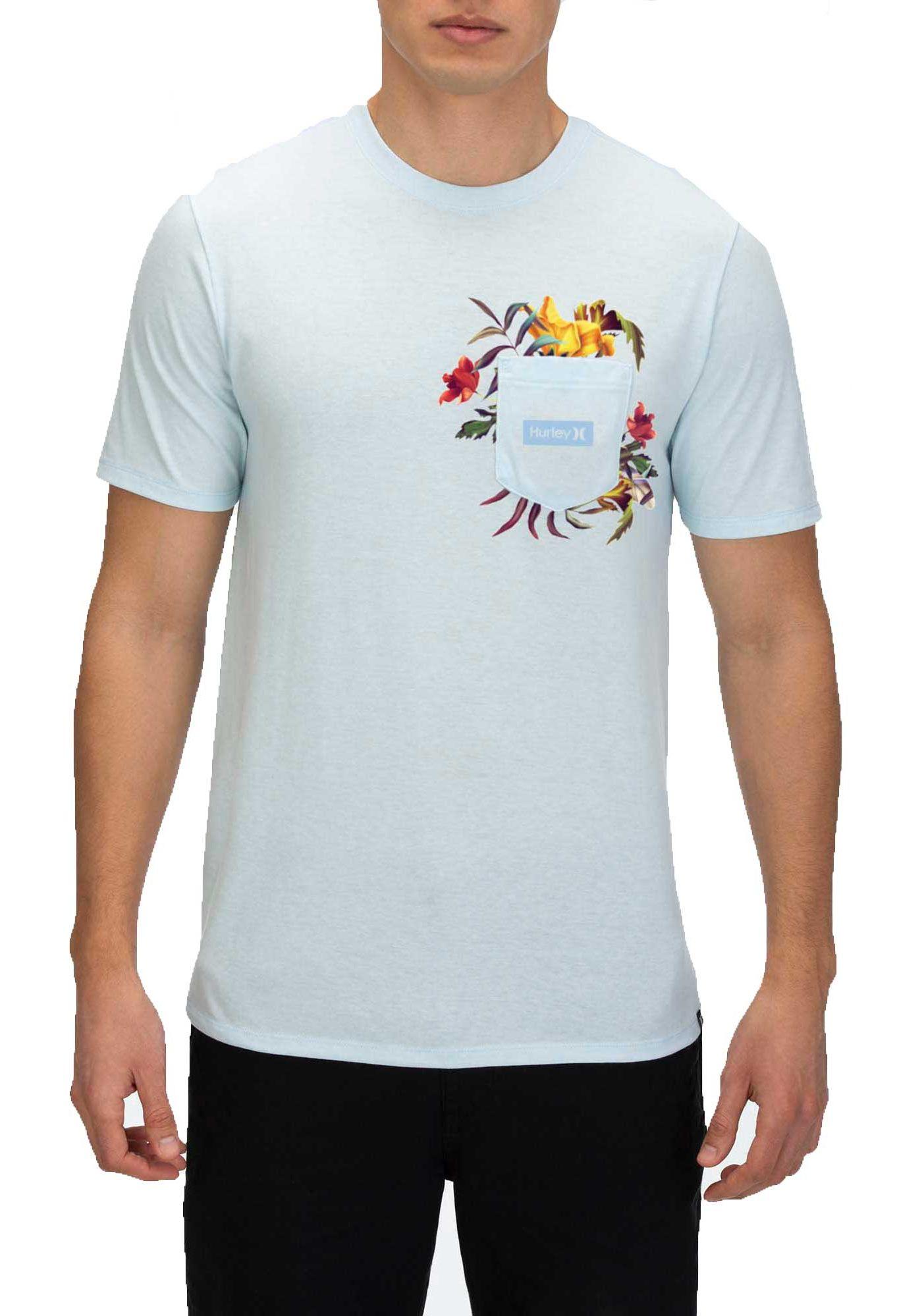 Hurley Men's Premium Fatcap Pocket Short Sleeve T-Shirt
