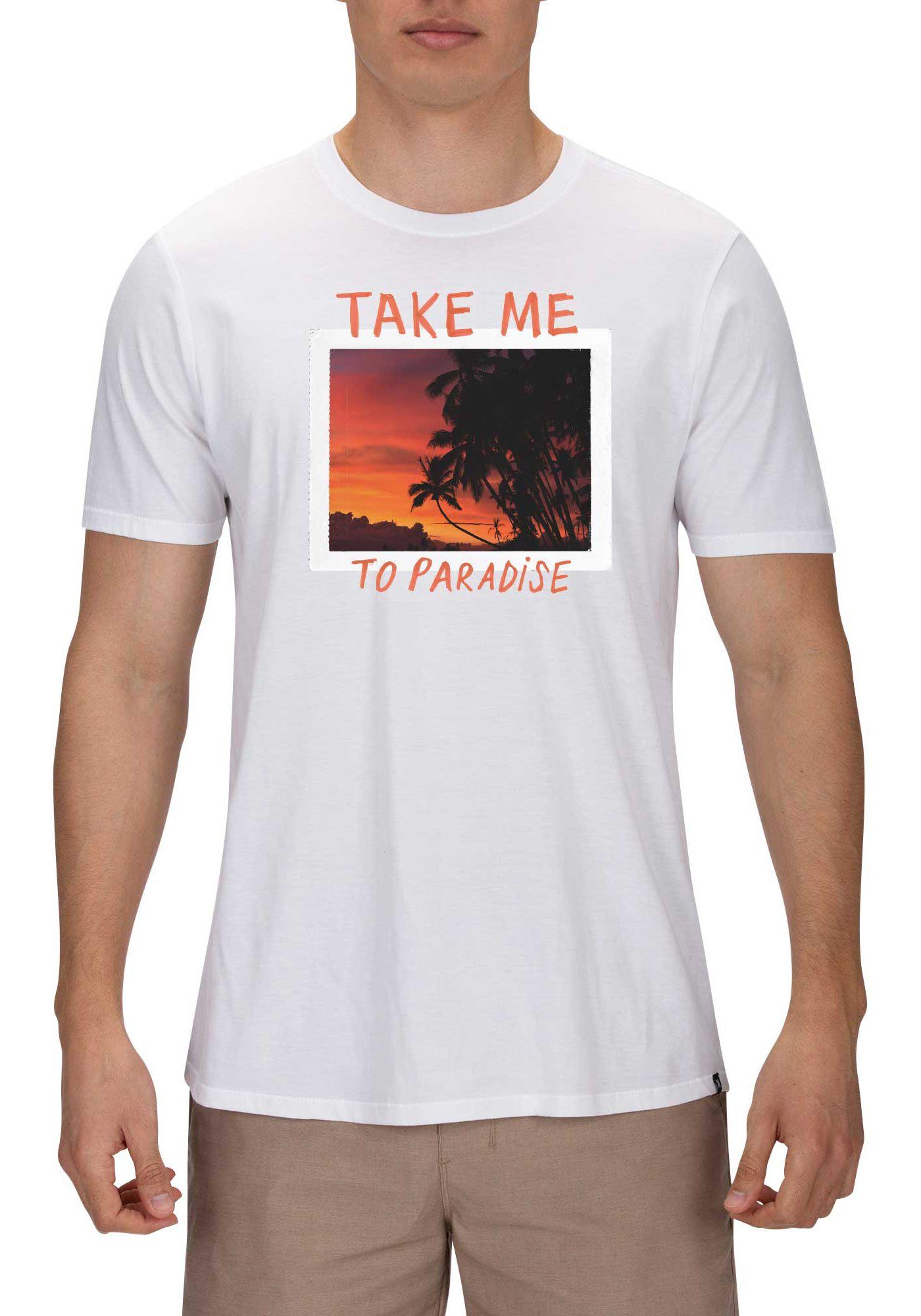 Hurley Men's Premium Take Me To Paradise T-Shirt