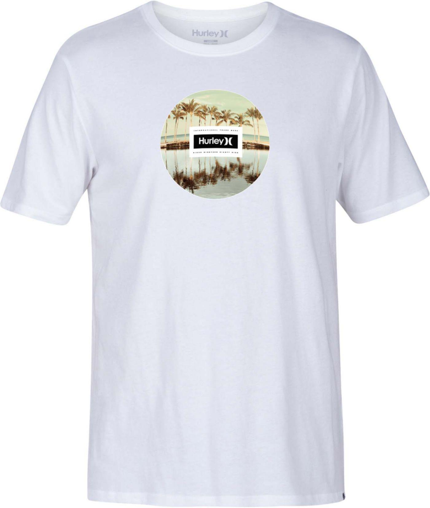 Hurley Men's Tropic Reflections Short Sleeve T-Shirt