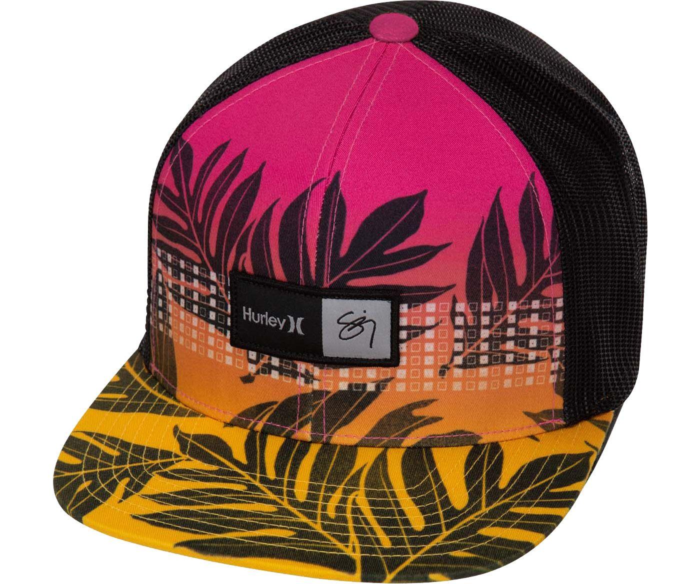 Hurley Men's Sig Zane Moorea Trucker Hat