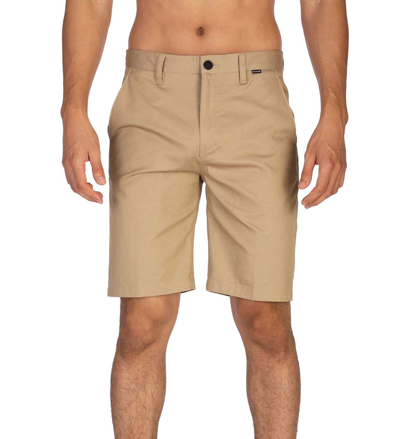 """Hurley Men's One & Only Stretch Chino 21"""" Shorts"""