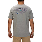 Hurley Men's North Carolina 3D Mapstee T-Shirt
