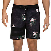 "Hurley Men's Phantom Block Party Paradise 18"" Board Shorts"