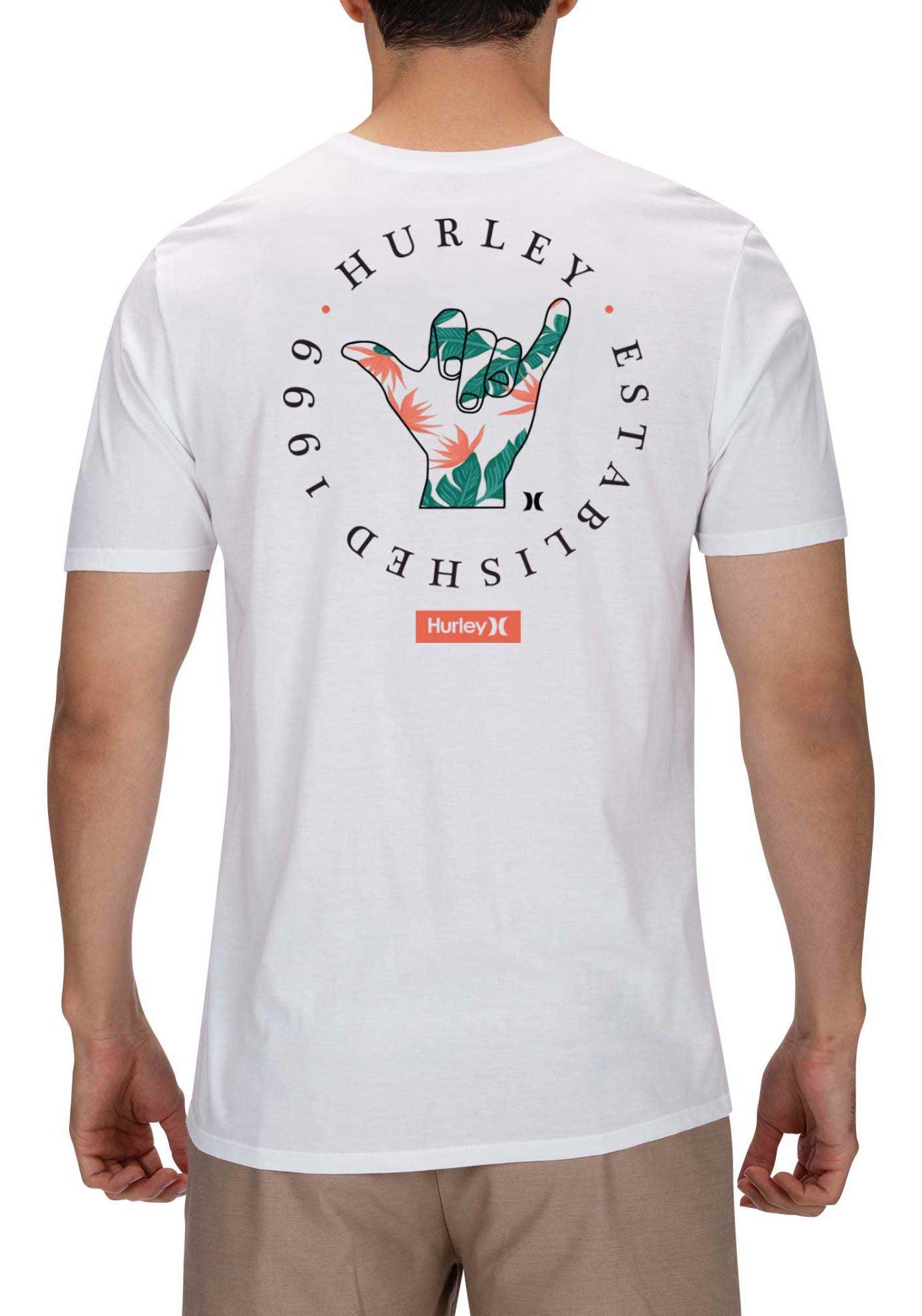 Hurley Men's Shaka Fill Short Sleeve T-Shirt