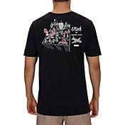 Hurley Men's Utah 3D Mapstee T-Shirt