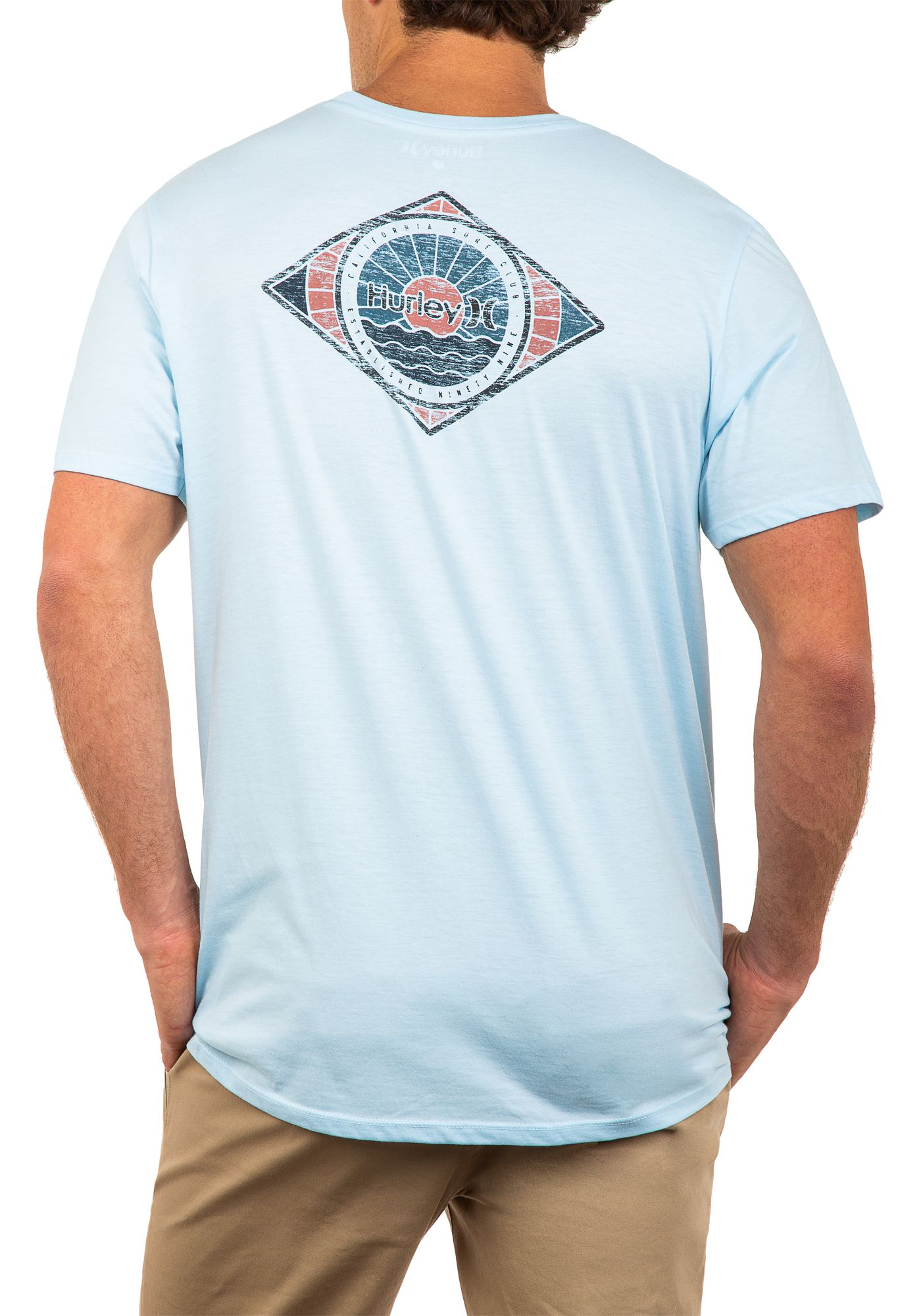 Hurley Men's Out To Sea Premium T-Shirt
