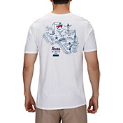 Hurley Men's Texas 3D Mapstee T-Shirt