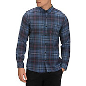 Hurley Men's Vedder Washed Long Sleeve Woven Shirt
