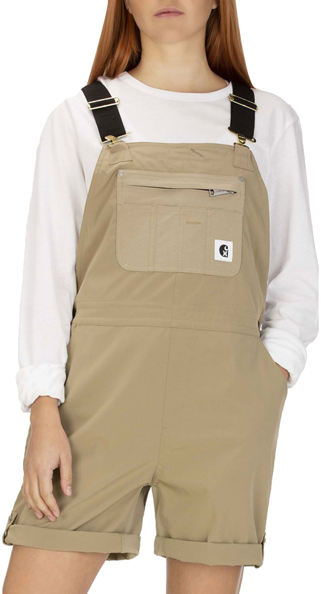 novel style hot-selling real super specials Hurley Women's Carhartt Short Overalls