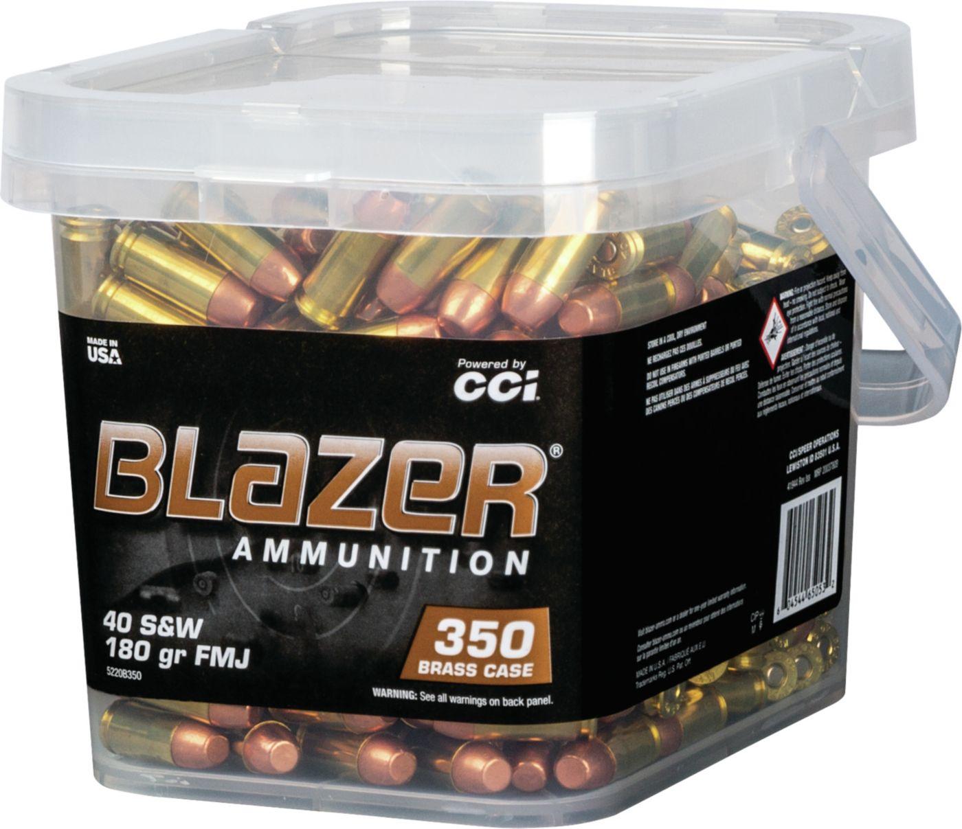 Blazer Brass Handgun Ammo – 350 Rounds